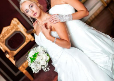 Brautmode fotomodelle