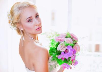 Fotomodel im Bereich Brautmode
